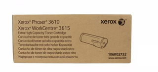 Toner Xerox Wc 3615 Original 106r02732 Cap Extra 25300 Pag