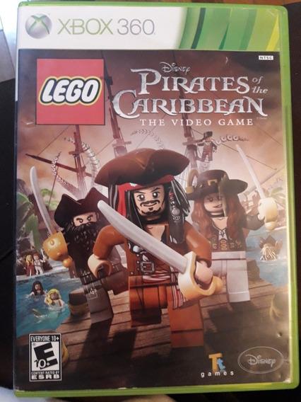 Jogo Xbox 360 Original Lego Piratas Do Caribe. Usado