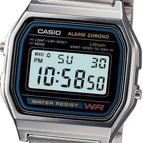 Relógios Masculinos Casio Digital Esportivo A158wa-1df