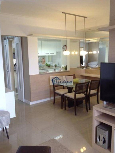 Imagem 1 de 30 de Apartamento Com 3 Dormitórios À Venda, 94 M² Por R$ 570.000 - Edifício Viva Vista - Indaiatuba/sp - Ap0536