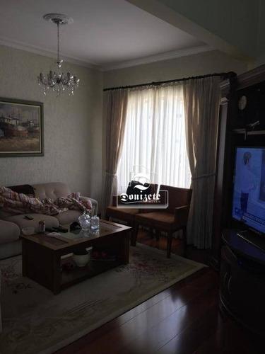Sobrado Com 3 Dormitórios À Venda, 313 M² Por R$ 1.599.000,00 - Vila Assunção - Santo André/sp - So2644