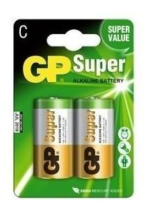 Pila Bateria Alcalina C Gp Jueguetes Linterna