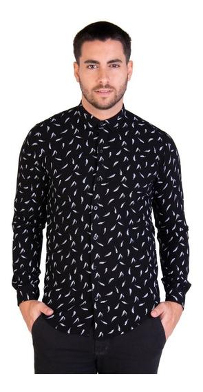 Camisa Change Plumas - Kout Hombre