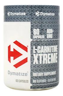 L-carnitina Xtreme 60 Caps Dymatize Importada Eua Original