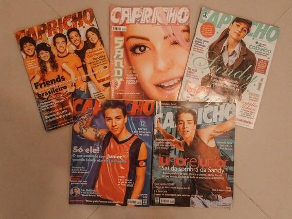 Revista Capricho Sandy E Junior - 5 Unidades