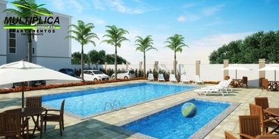 Apartamento Com 2 Quartos À Venda, 48 M² Por R$ 155.000 - 100