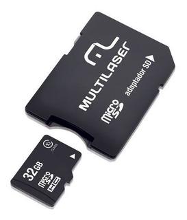 Cartão De Memória 32gb Multilaser