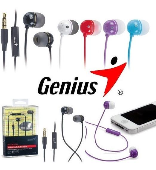 Audifonos Genius Hs-m210 Con Mic