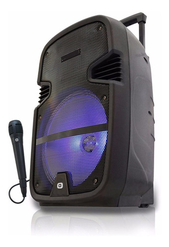 Parlante 3000w Portatil Bateria Y 220v Bluetooth + Microfono Inalambrico Karaoke Luces Led Control Remoto Usb + Sonido