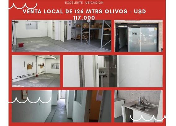 Venta Local Olivos 126 Mtrs
