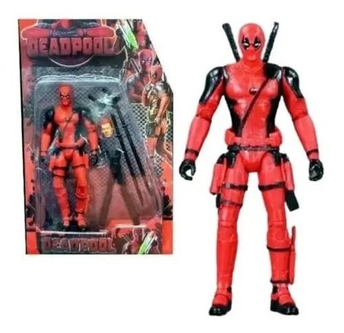 Deadpool Espectacular Figura 18cm Armas Acces Luz Blister
