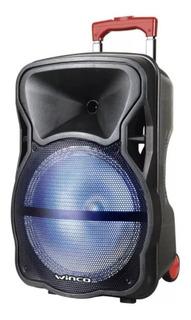 Parlante Portátil Bluetooth Bafle Luz Fm Micrófono Usb W-239