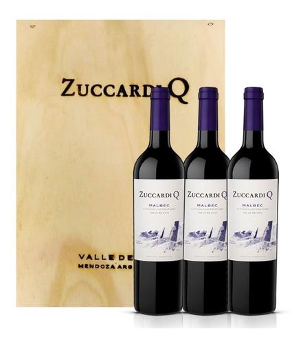 Vino Zuccardi Q Malbec 2017 750ml Mendoza Caja X3