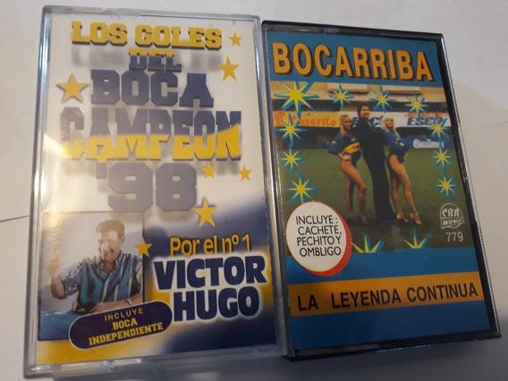 Boca Juniors*2 Cassettes*bocarriba Y Goles Del Campeon 98