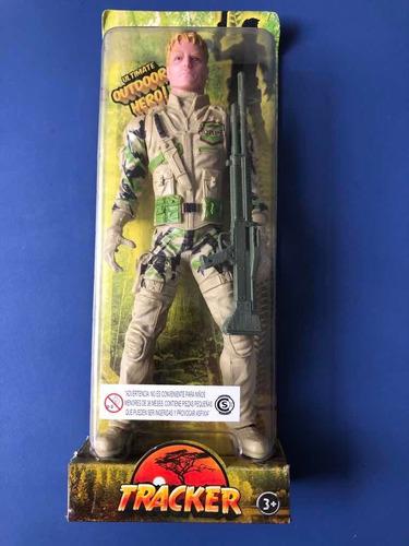 Soldado De Guerra De 26 Cm De Alto Tracker