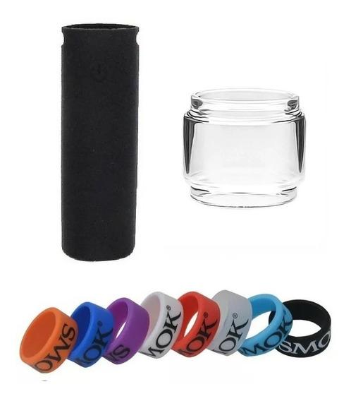 Kit Pen 22 - Vidro Bolha + Capa + Vapeband