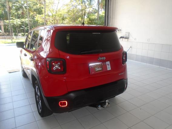 Renegade Sport Automática - 2016 Vermelha Super Nova