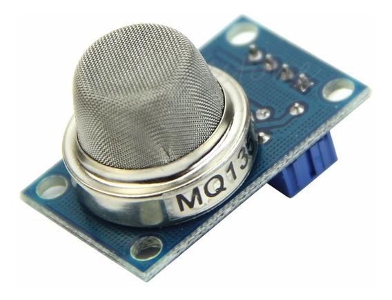 Sensor De Gás Mq-135 Amônia Nítrico Álcool Qualidade Ar