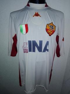 As Roma 2001 Visita Talla L Kappa # 12