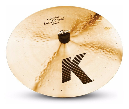 Platillo Zildjian K Custom Dark Crash 16 Pulgadas K0951