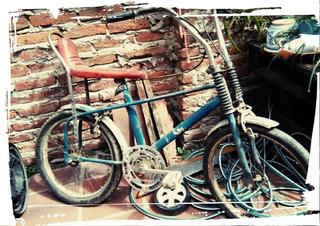 Bicicleta Antigua 70s Banana Rodado 20