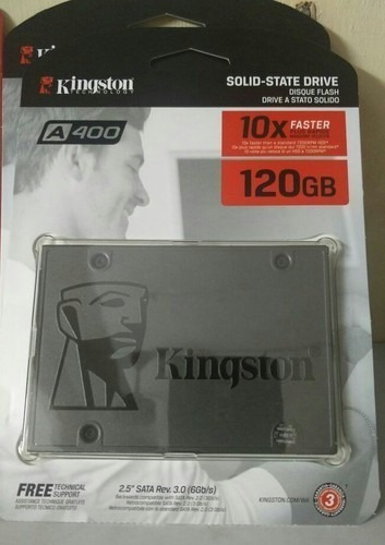 Disco Duro / Disco Solido (ssd) Kingston 120 Gb