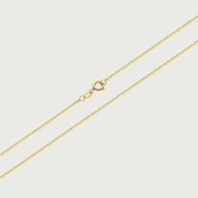 Cordão Veneziano Em Ouro 18k - 45cm