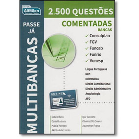 Passe Já - Multibancas 2.500 Questões Comentadas