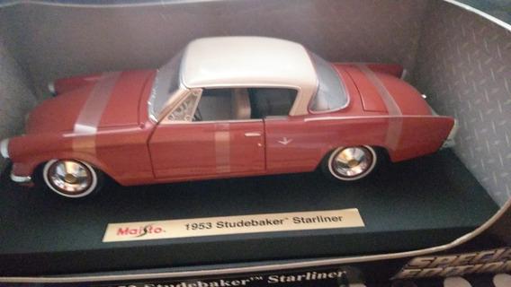 Miniatura Em Escala 1/18 Do 1953 Studebaker Starliner
