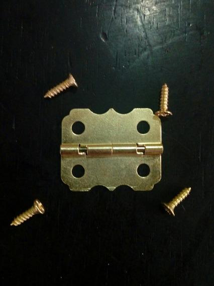 Bisagra Tipo Mariposa 25*20mm C/tornillos (cod. Bgr-006)