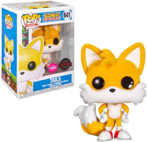 Imagen 1 de 1 de Tails Aterciopelado Special Edition Fuko Pop Sonic Hedgehog