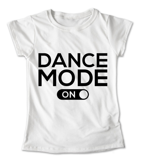 Blusa Baile Colores Playera Estampado Dance Mode Danza 143