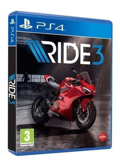 Ride 3 Midia Fisica - Ps4 - Lançamento Pronta Entrega !