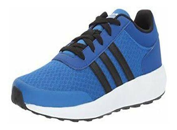 Tenis adidas Cloudfoam Race-azul-originales Bc0065