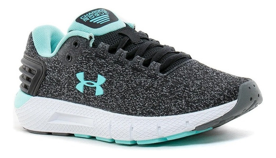 Zapatillas Under Armour Charged Rogue Mujer Running Gris