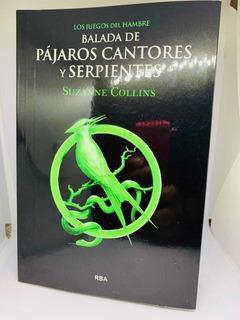 Libro Balada De Pájaros Cantores Y Serpientes