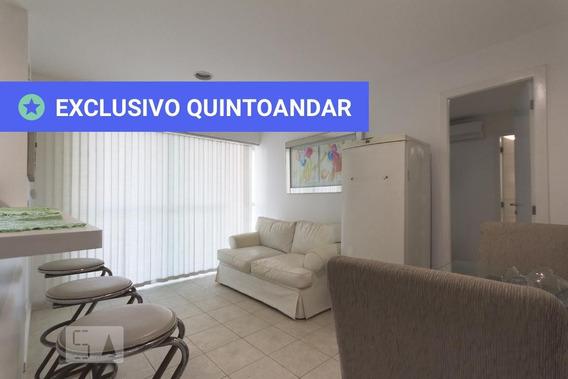 Apartamento No 1º Andar Mobiliado Com 2 Dormitórios E 2 Garagens - Id: 892957671 - 257671