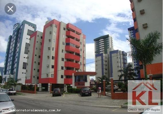 Apartamento Para Venda Em Natal, Capim Macio, 2 Dormitórios, 1 Suíte, 2 Banheiros, 1 Vaga - Ka 0841