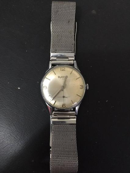 Relógio De Pulso À Corda Classic (funcionando)