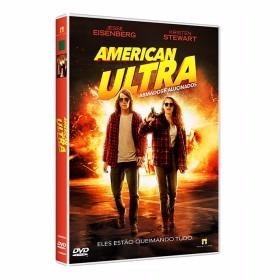 Dvd - American Ultra - Armados E Alucinados - Original Novo
