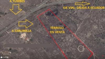 Vendo Terreno En Zarumilla - Tumbes