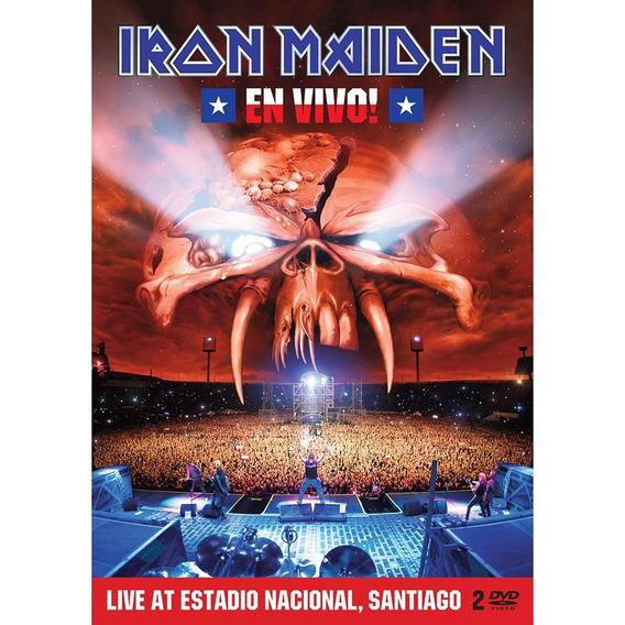 Iron Maiden Dvd En Vivo - Leia Descrição