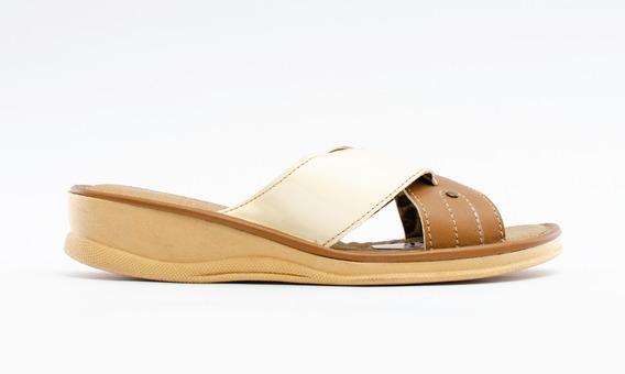 Zapatos Chinelas Capellada Suffle Dama S1512