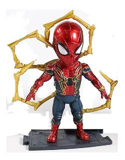 Iron Spider Avenger Vengadores Figura 10cm Base Espectacular