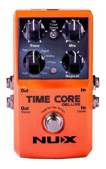 Pedal Delay - Time Core Deluxe - Nux