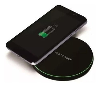 Carregador Wireless Ultra Rápido Android iPhone Preto Cb130