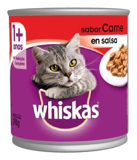 Wiskas Lata Gato Adulto 290g - kg a $4500