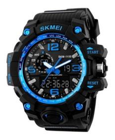 Relógio Militar Skmei Shock 1155 Original C/ Caixa