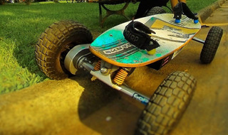 Skate Elétrico Off Road Sk8 Tronik Tech 800w - Usado