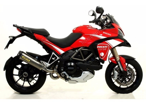 Kit Adesivo Ducati Corse Multistrada Vermelho Ou Branco